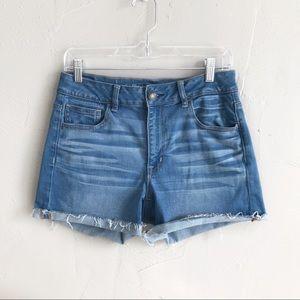 American Eagle Hi-Rise Shortie Shorts size 10